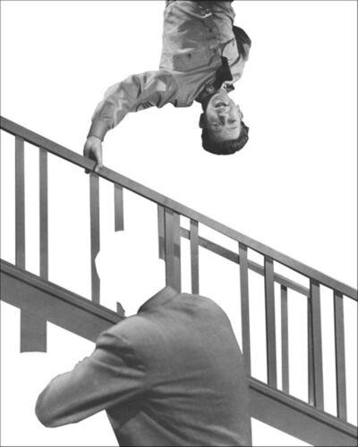 John Baldessari, 'Stairway, Coat and Person', 2011