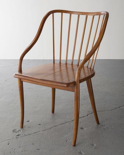 Joaquim Tenreiro, 'Side chair with undulating armrests', 1948