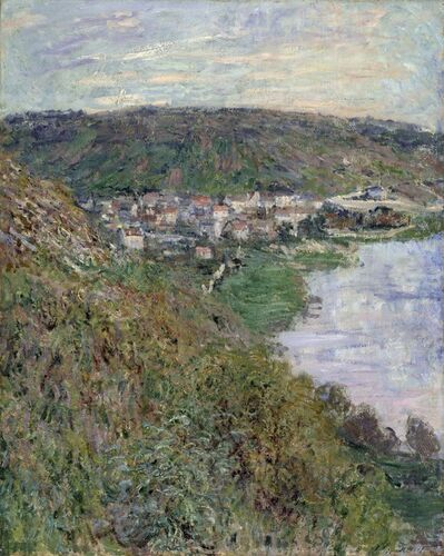Claude Monet, 'View of Vétheuil', 1880