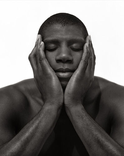 Herb Ritts, 'Earvin Magic Johnson, Hollywood 1992', 1992