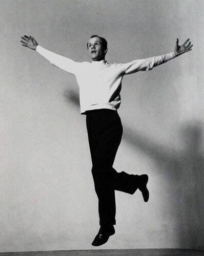 Barbara Morgan, 'Beaumont Newhall Jumping', 1942
