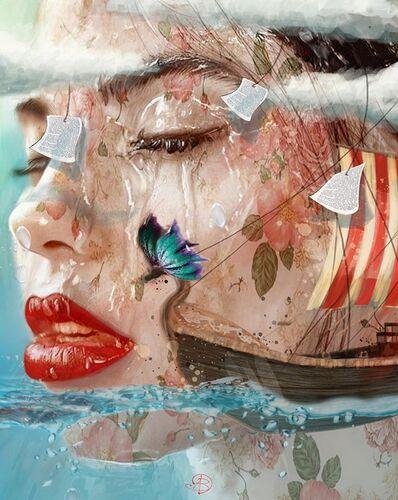 Durmuş Bahar, 'Wet Poet', 2017
