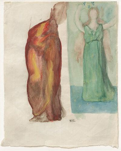 """Pierre Puvis de Chavannes, '""""La Renommée, ou L'Enthousiasme (Fame, or Enthusiasm)""""', 1894"""