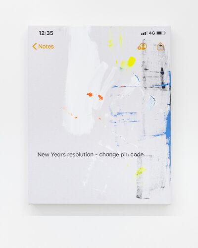 Richie Culver, 'Resolution', 2020
