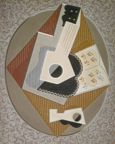 Gino Severini, 'The Guitar', 1918