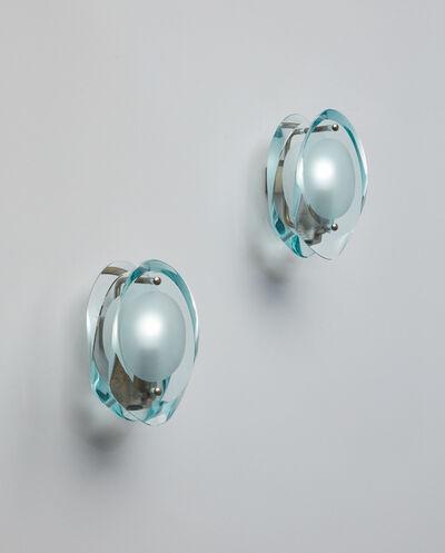 """Max Ingrand, 'Pair of """"Micro"""" wall lights, model no. 2093', 1960s"""