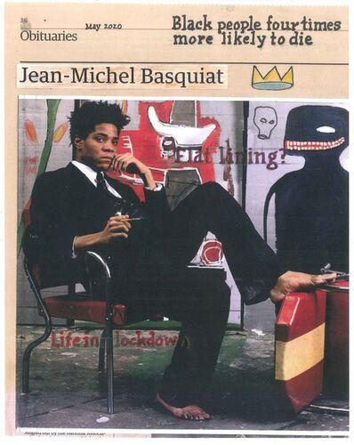 Hugh Mendes, 'Basquiat: Black', 2020