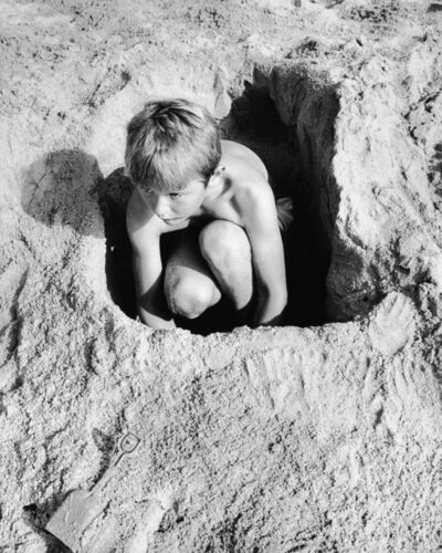 Mimi Plumb, 'Boy in Sand Hole', 1988