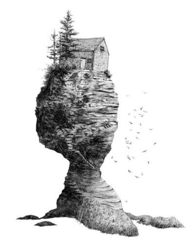 Scott Bluedorn, 'Hermit's Rock', 2016