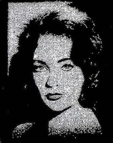 Vik Muniz, 'Liz Taylor (From Pictures of Diamonds)', 2004