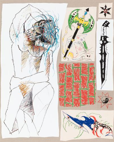 Zander Blom, 'Cubist Study', 2018