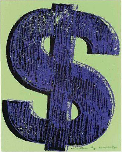 Andy Warhol, '$ (1)', 1982