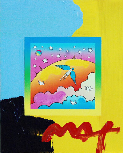 Peter Max, 'Angel Clouds on Blends #396', 2009