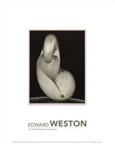 Edward Weston, 'Edward Weston Exhibition Poster for the J. Paul Getty Musuem', 2020