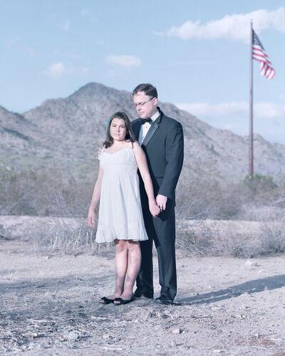David Magnusson, 'Jenna Clark, 11 years & Jeff Clark. Chandler, Arizona.'