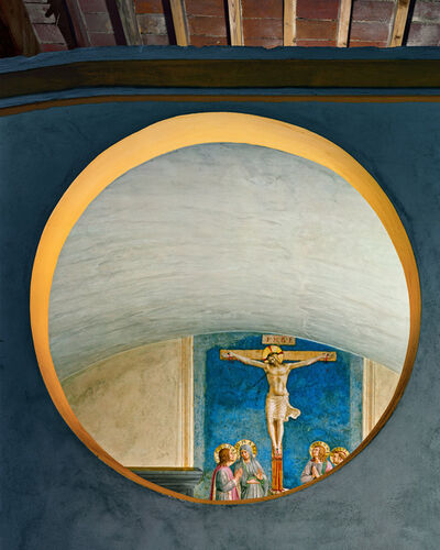 Robert Polidori, 'Crucifixion with the Virgin and Saints by Fra Angelico #1, San Marco Convent, Florence, Italy', 2010