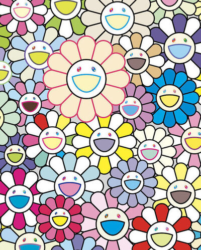 Takashi Murakami, 'Field of Flowers', 2020