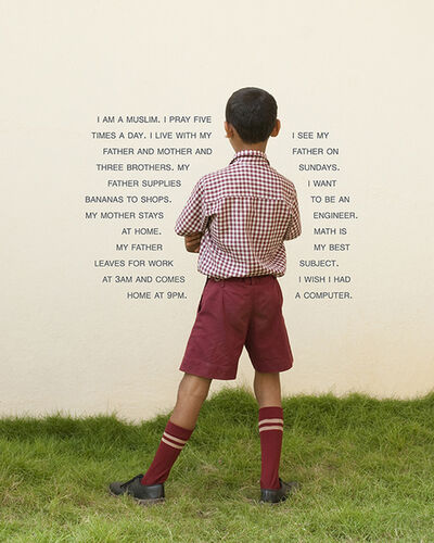 Judy Gelles, 'India: English Speaking Private School (Boy)', 2013