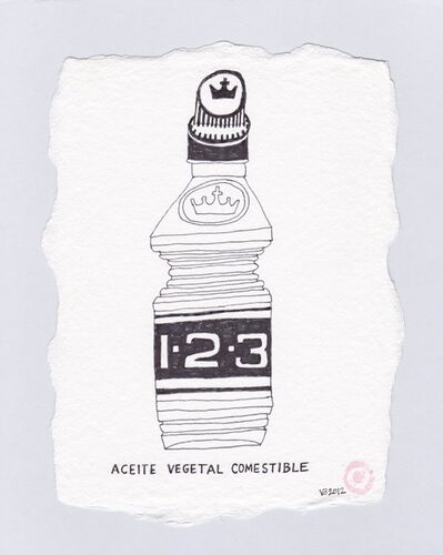 Victoria Behm, 'Aceite Vegetal Comestible', 2012