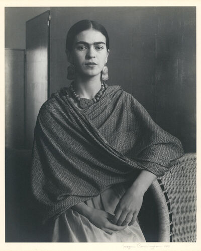 Imogen Cunningham, 'Portrait of Frida Kahlo', 1937