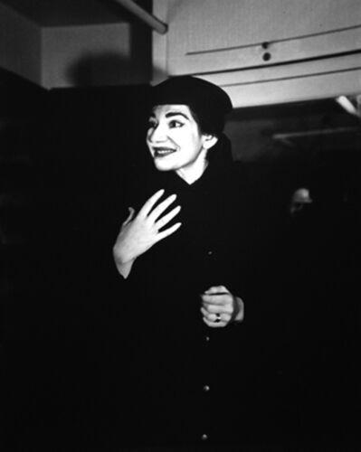 Peter Basch, 'Maria Callas, Chicago', 1955