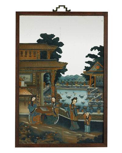 Unknown, 'Chinese Export Mirror Painting', Early 19th century