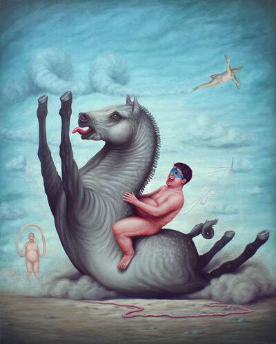 Bruno Pontiroli, 'Le pas de course', 2016