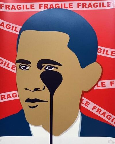"Pure Evil, 'Crying ""Fragile"" Obama', 2017"