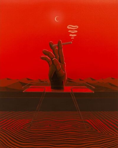 Louis Appleby, 'Right hand of God (Red)', 2020