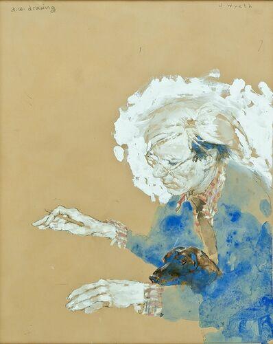 Jamie Wyeth, 'a.w. drawing', 2018