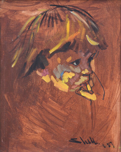 Arthur Shilling, 'Arthur's Son, Bewabon', 1981