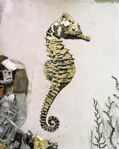 Vik Muniz, 'Seahorse (Scrap Metal)', 2012