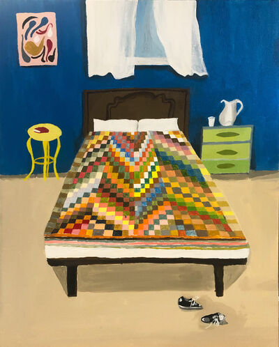 Polly Shindler, 'Room with Sneakers and Open Window', 2020