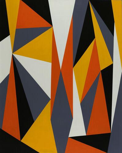 José Rosabal, 'Gestalt Orange-Yellow', 2016