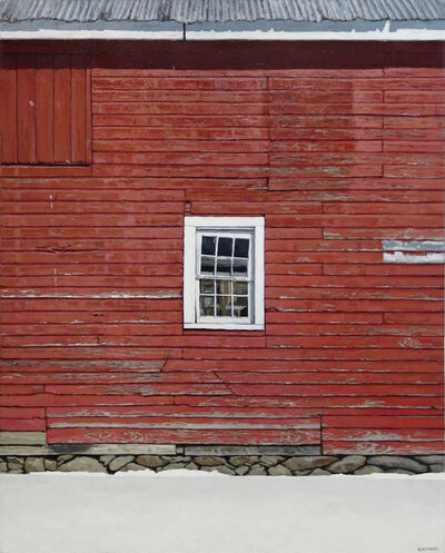 Richard Combes, 'Red Barn Wall', 2017