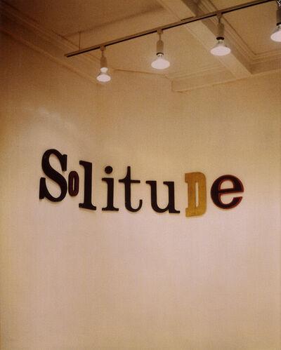 Jack Pierson, 'Solitude', 1995