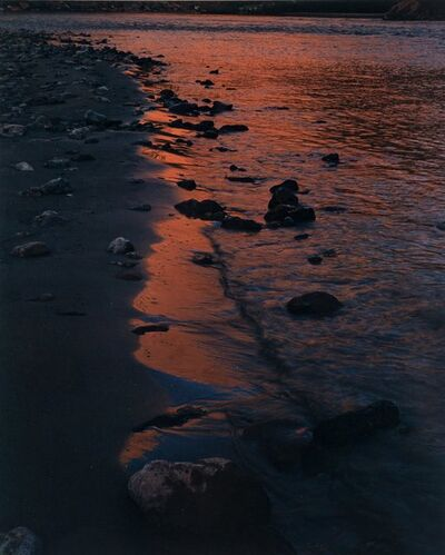 Eliot Porter, 'River Edge at Sunset, Below Piute Rapids, San Juan River, Colorado', 1962