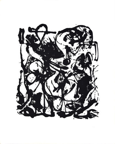 Jackson Pollock, 'Expression n.6', 1964