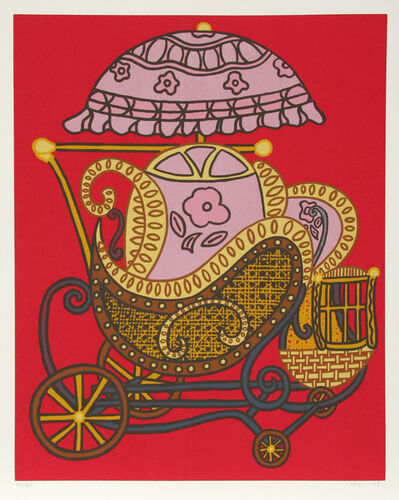 William Nelson Copley, 'Baby Buggy', 1978