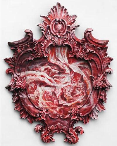 Victoria Reynolds, 'Flesh Medallion', 2017