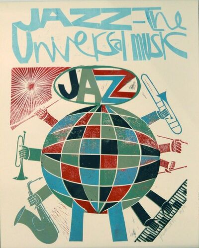 Paul Peter Piech, 'Jazz is the Universal Music', 1995