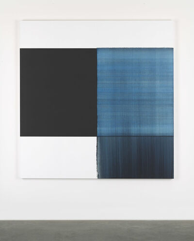 Callum Innes, 'Exposed Painting Oriental Blue ', 2017