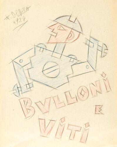 Fortunato Depero, 'Bulloni e viti', 1924