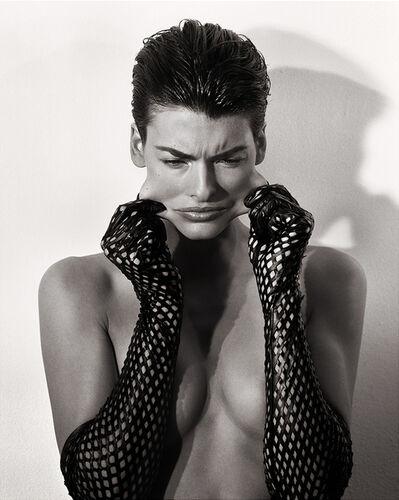 Steven Meisel, 'Pulling Face, Linda Evangelista for Vogue Paris', 1989