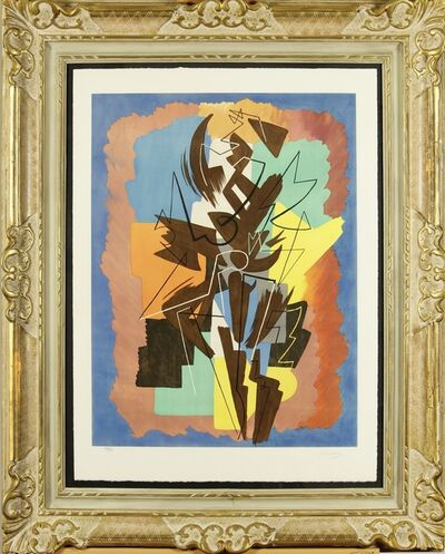 Gino Severini, 'Danse Espagnole', 1960-1961