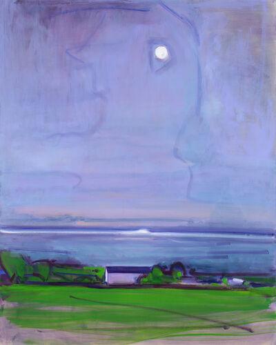 Elizabeth Higgins, 'Moonlight on Sound', 2018