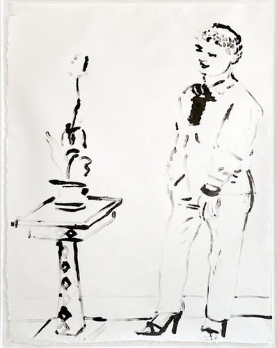 David Hockney, 'Celia amused', 1979