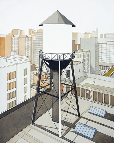 William Steiger, 'Watertower Outside Studio', 2013