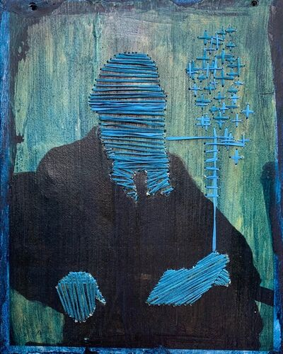Irina Vladi, 'Tolstoy in Silk: Shut the Fuck Up Series, II', 2019