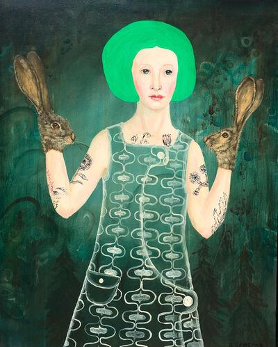 Anne Siems, 'Green Hair', 2019